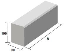 meio fio de concreto imagem